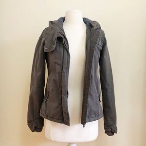 Bench Grey Parka Jacket
